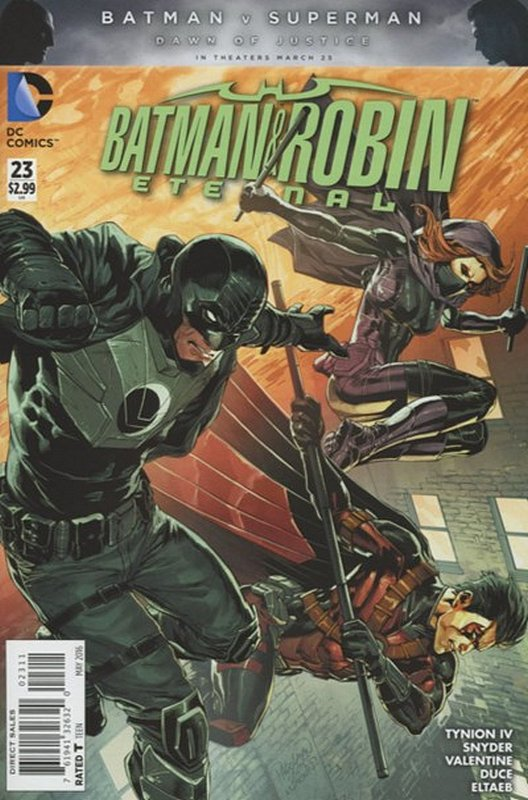 Cover of Batman and Robin Eternal (Vol 1) #23. One of 250,000 Vintage American Comics on sale from Krypton!