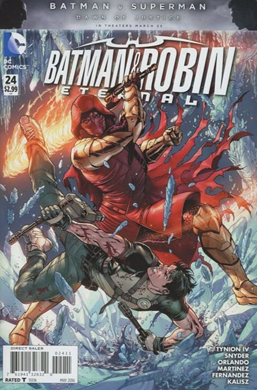 Cover of Batman and Robin Eternal (Vol 1) #24. One of 250,000 Vintage American Comics on sale from Krypton!