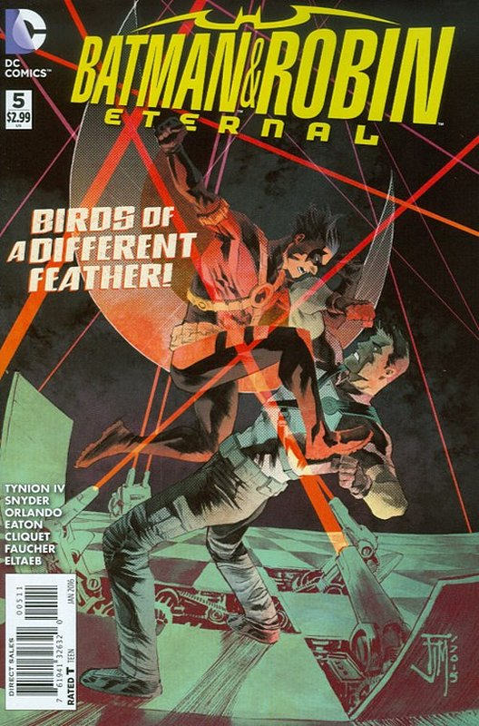 Cover of Batman and Robin Eternal (Vol 1) #5. One of 250,000 Vintage American Comics on sale from Krypton!