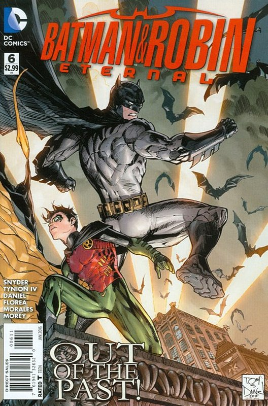 Cover of Batman and Robin Eternal (Vol 1) #6. One of 250,000 Vintage American Comics on sale from Krypton!