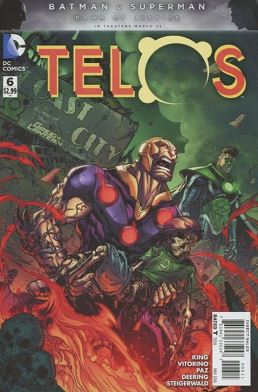 Cover of Telos (Vol 1) #6. One of 250,000 Vintage American Comics on sale from Krypton!