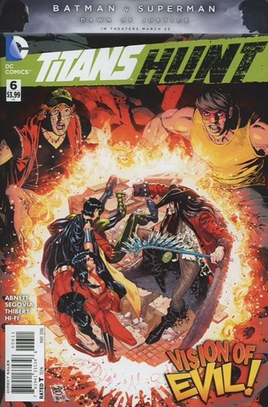 Cover of Titans: Hunt (2015 Ltd) #6. One of 250,000 Vintage American Comics on sale from Krypton!