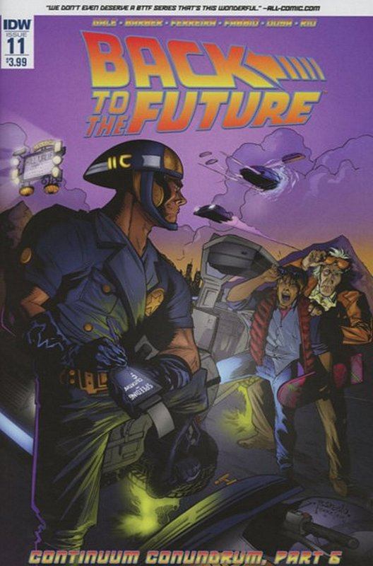 Cover of Back to the Future (Vol 1) #11. One of 250,000 Vintage American Comics on sale from Krypton!