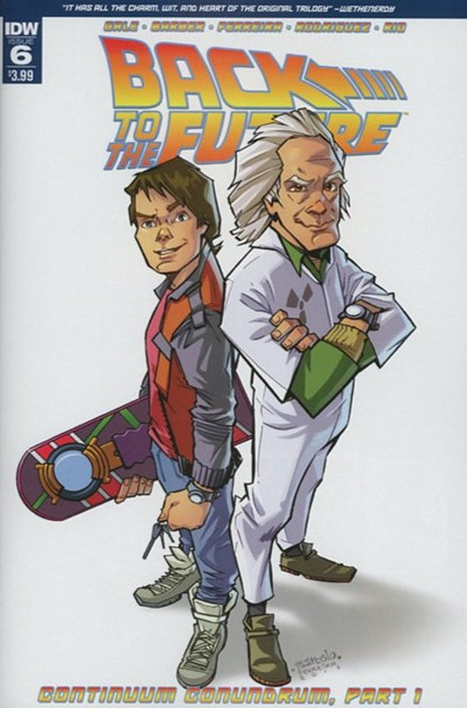 Cover of Back to the Future (Vol 1) #6. One of 250,000 Vintage American Comics on sale from Krypton!