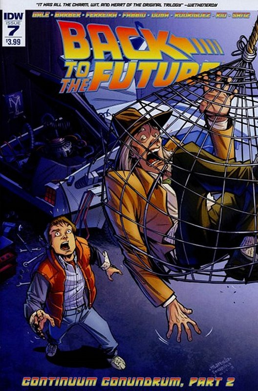 Cover of Back to the Future (Vol 1) #7. One of 250,000 Vintage American Comics on sale from Krypton!