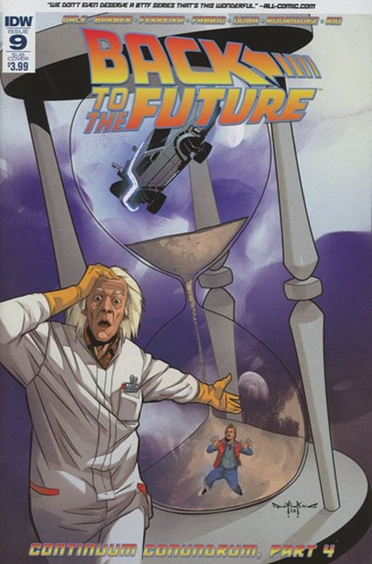 Cover of Back to the Future (Vol 1) #9. One of 250,000 Vintage American Comics on sale from Krypton!