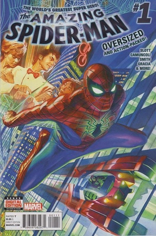 Cover of Amazing Spider-Man (Vol 4) #1. One of 250,000 Vintage American Comics on sale from Krypton!
