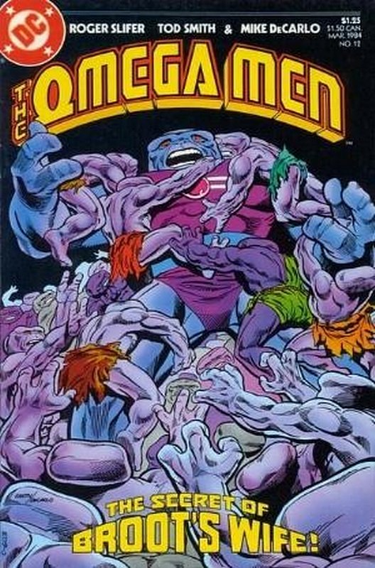 Cover of Omega Men (Vol 1) #12. One of 250,000 Vintage American Comics on sale from Krypton!