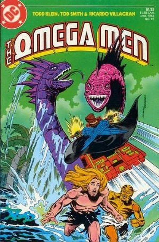 Cover of Omega Men (Vol 1) #14. One of 250,000 Vintage American Comics on sale from Krypton!