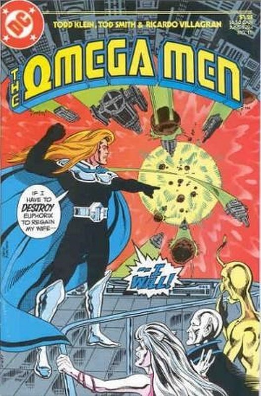 Cover of Omega Men (Vol 1) #15. One of 250,000 Vintage American Comics on sale from Krypton!