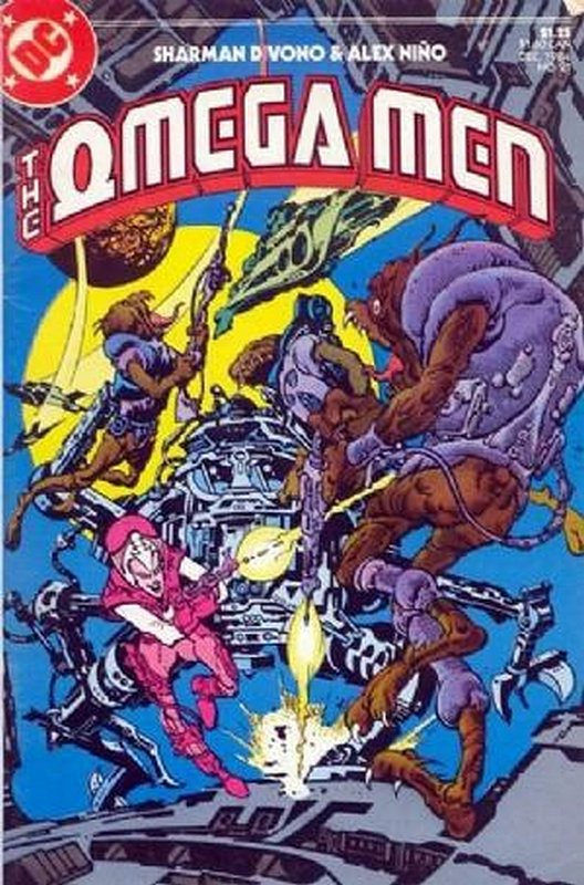 Cover of Omega Men (Vol 1) #21. One of 250,000 Vintage American Comics on sale from Krypton!