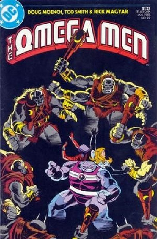 Cover of Omega Men (Vol 1) #22. One of 250,000 Vintage American Comics on sale from Krypton!