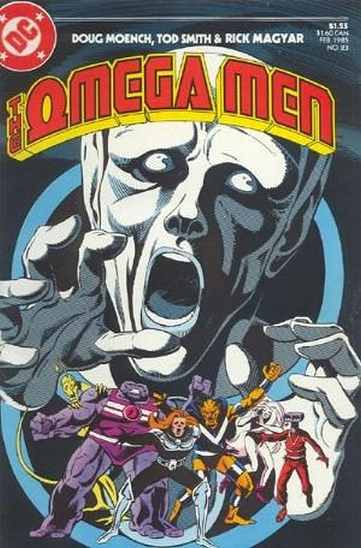 Cover of Omega Men (Vol 1) #23. One of 250,000 Vintage American Comics on sale from Krypton!