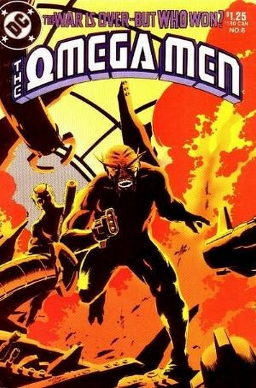 Cover of Omega Men (Vol 1) #6. One of 250,000 Vintage American Comics on sale from Krypton!