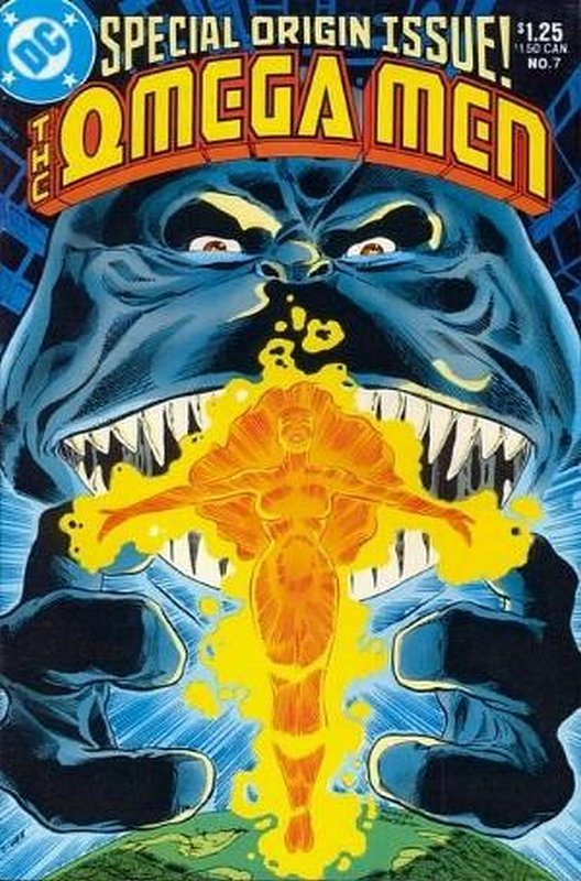 Cover of Omega Men (Vol 1) #7. One of 250,000 Vintage American Comics on sale from Krypton!
