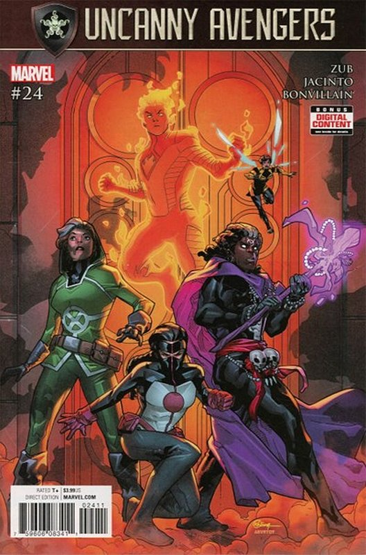 Cover of Uncanny Avengers (Vol 3) #24. One of 250,000 Vintage American Comics on sale from Krypton!