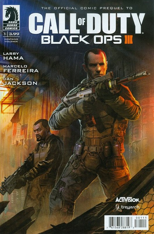 Cover of Call of Duty: Black Ops III (2015 Ltd) #1. One of 250,000 Vintage American Comics on sale from Krypton!