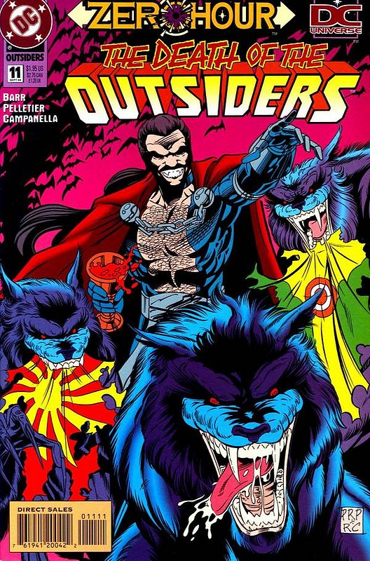 Cover of Outsiders (Vol 2) #11. One of 250,000 Vintage American Comics on sale from Krypton!
