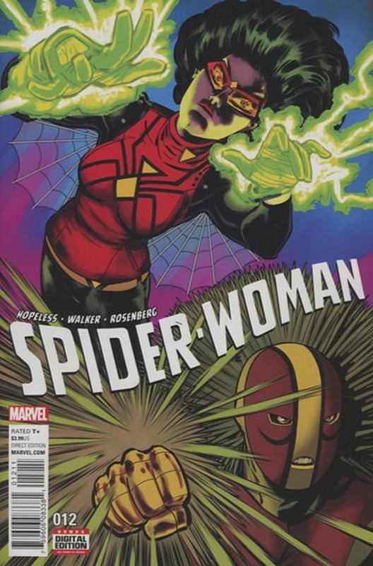 Cover of Spider-Woman (Vol 5) #12. One of 250,000 Vintage American Comics on sale from Krypton!