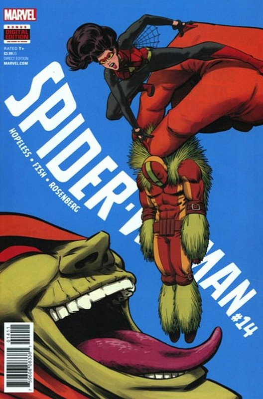 Cover of Spider-Woman (Vol 5) #14. One of 250,000 Vintage American Comics on sale from Krypton!