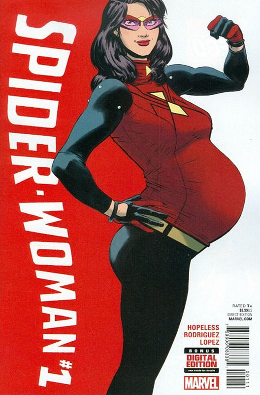 Cover of Spider-Woman (Vol 5) #1. One of 250,000 Vintage American Comics on sale from Krypton!