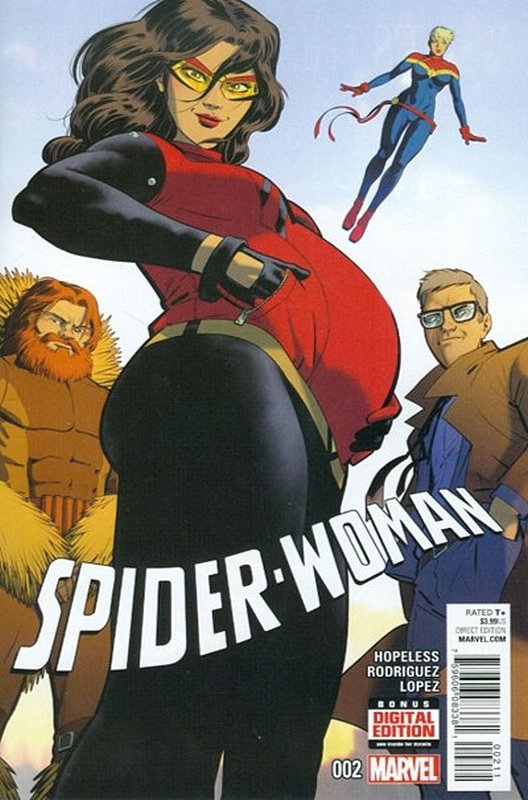 Cover of Spider-Woman (Vol 5) #2. One of 250,000 Vintage American Comics on sale from Krypton!
