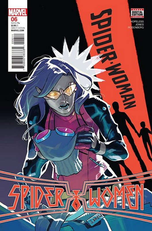 Cover of Spider-Woman (Vol 5) #6. One of 250,000 Vintage American Comics on sale from Krypton!
