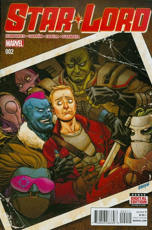 Cover of Star-lord (Vol 1) #2. One of 250,000 Vintage American Comics on sale from Krypton!