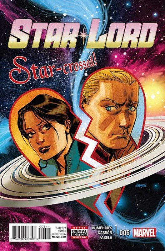 Cover of Star-lord (Vol 1) #6. One of 250,000 Vintage American Comics on sale from Krypton!