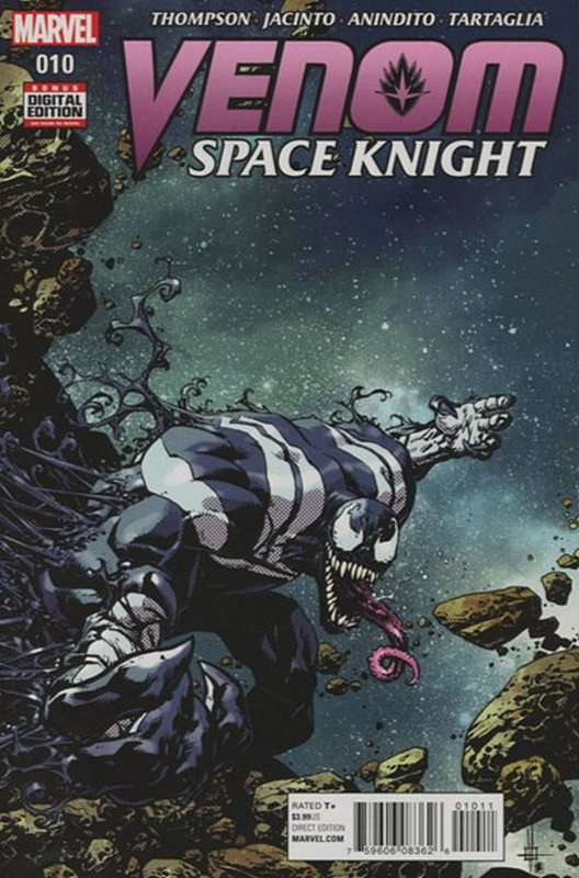 Cover of Venom: Space Knight (Vol 1) #10. One of 250,000 Vintage American Comics on sale from Krypton!