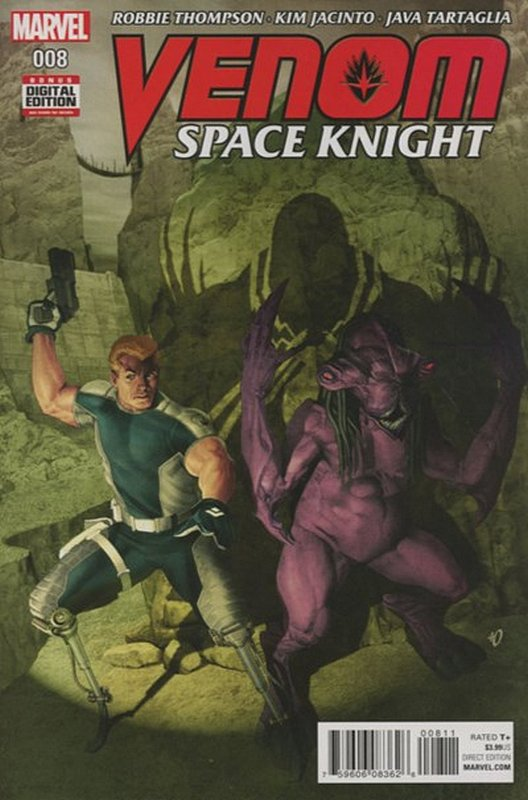 Cover of Venom: Space Knight (Vol 1) #8. One of 250,000 Vintage American Comics on sale from Krypton!