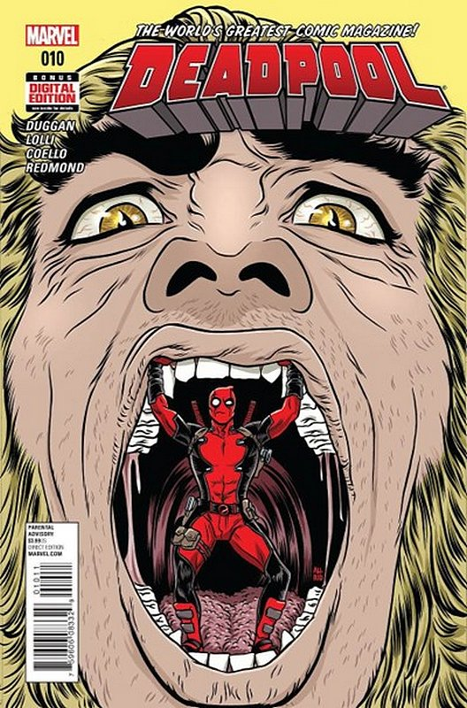 Cover of Deadpool (Vol 4) #10. One of 250,000 Vintage American Comics on sale from Krypton!