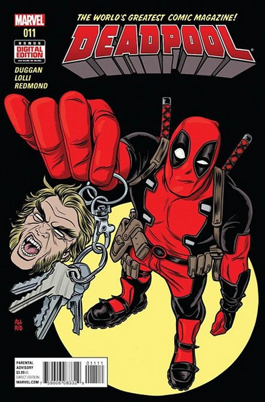 Cover of Deadpool (Vol 4) #11. One of 250,000 Vintage American Comics on sale from Krypton!