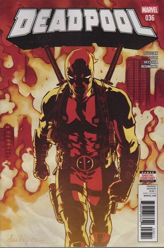 Cover of Deadpool (Vol 4) #36. One of 250,000 Vintage American Comics on sale from Krypton!
