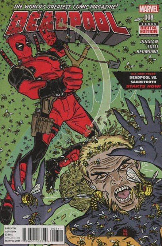 Cover of Deadpool (Vol 4) #8. One of 250,000 Vintage American Comics on sale from Krypton!