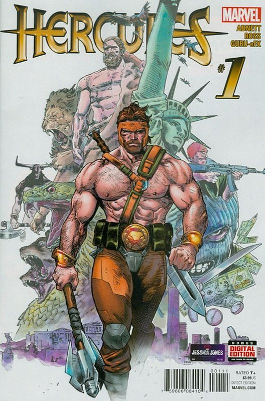 Cover of Hercules (Vol 1) #1. One of 250,000 Vintage American Comics on sale from Krypton!