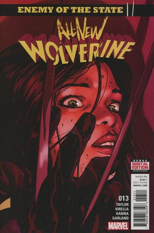 Cover of Wolverine, All-New (Vol 1) #13. One of 250,000 Vintage American Comics on sale from Krypton!