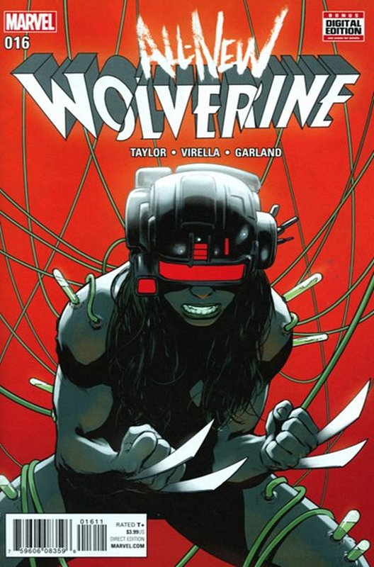 Cover of Wolverine, All-New (Vol 1) #16. One of 250,000 Vintage American Comics on sale from Krypton!