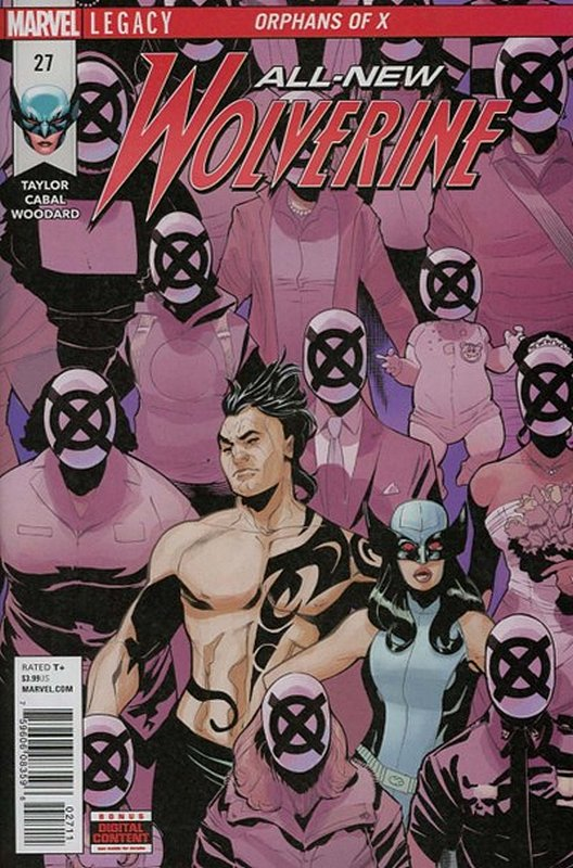 Cover of Wolverine, All-New (Vol 1) #27. One of 250,000 Vintage American Comics on sale from Krypton!