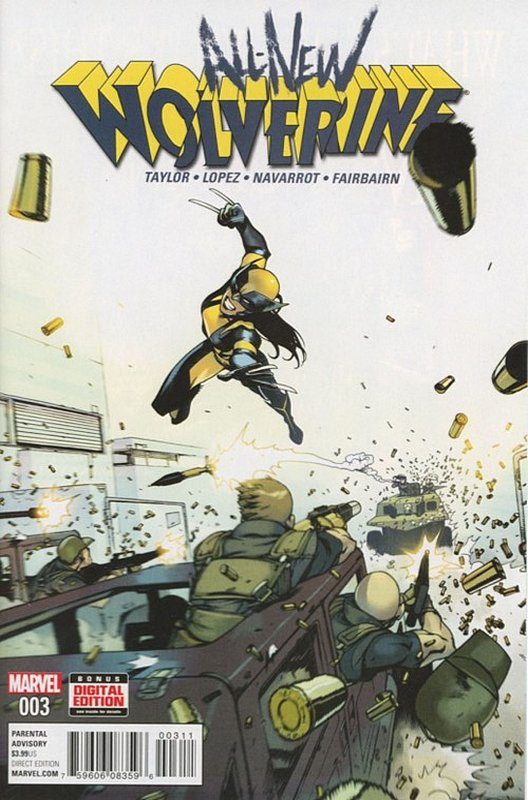 Cover of Wolverine, All-New (Vol 1) #3. One of 250,000 Vintage American Comics on sale from Krypton!