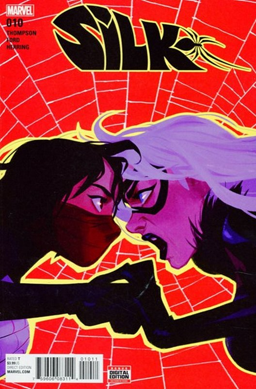 Cover of Silk (Vol 2) (Marvel) #10. One of 250,000 Vintage American Comics on sale from Krypton!