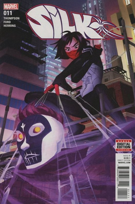 Cover of Silk (Vol 2) (Marvel) #11. One of 250,000 Vintage American Comics on sale from Krypton!