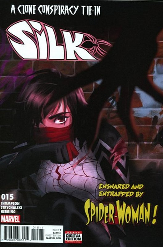 Cover of Silk (Vol 2) (Marvel) #15. One of 250,000 Vintage American Comics on sale from Krypton!