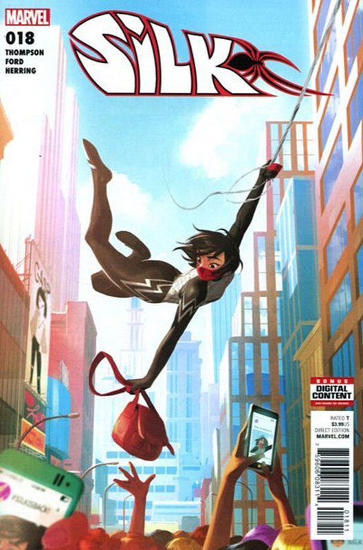 Cover of Silk (Vol 2) (Marvel) #18. One of 250,000 Vintage American Comics on sale from Krypton!