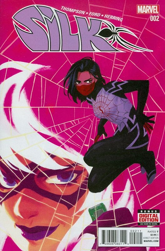 Cover of Silk (Vol 2) (Marvel) #2. One of 250,000 Vintage American Comics on sale from Krypton!