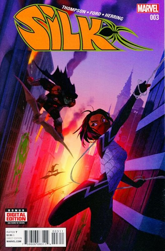 Cover of Silk (Vol 2) (Marvel) #3. One of 250,000 Vintage American Comics on sale from Krypton!
