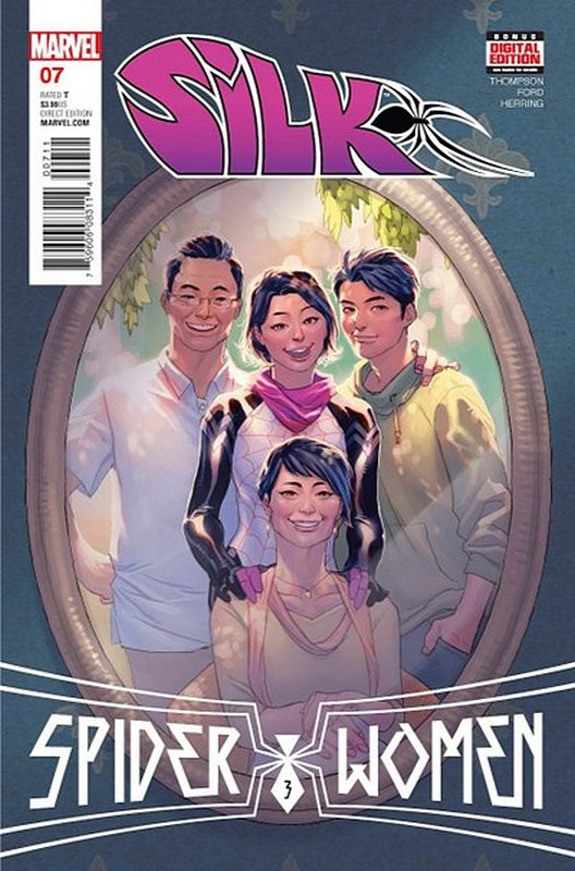 Cover of Silk (Vol 2) (Marvel) #7. One of 250,000 Vintage American Comics on sale from Krypton!