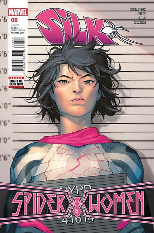 Cover of Silk (Vol 2) (Marvel) #8. One of 250,000 Vintage American Comics on sale from Krypton!
