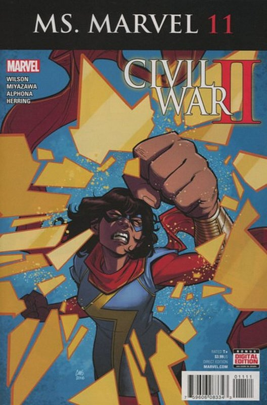 Cover of Ms Marvel (Vol 4) #11. One of 250,000 Vintage American Comics on sale from Krypton!