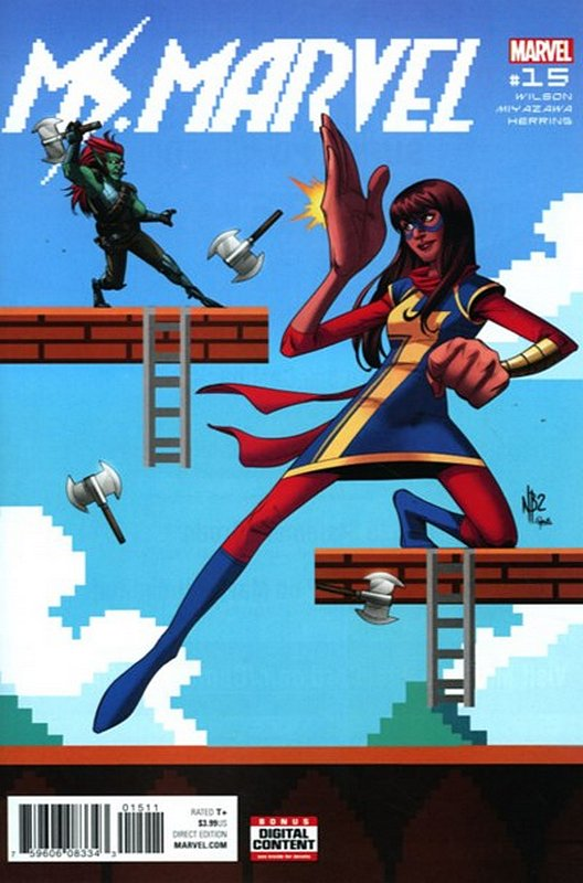 Cover of Ms Marvel (Vol 4) #15. One of 250,000 Vintage American Comics on sale from Krypton!